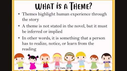 Literary Elements: Theme