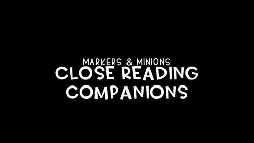 Close Reading Companions (Benchmark Advance, Fifth Grade, Unit 3)