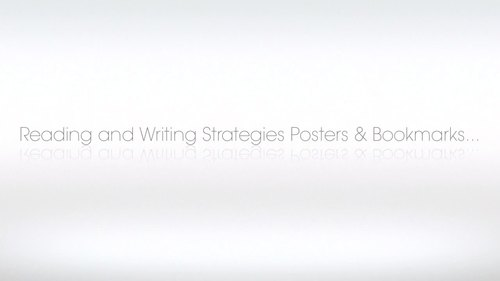 Reading Strategies Posters / Writing Strategies Posters and Bookmarks