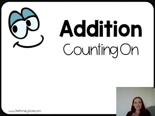 7 Minute Whiteboard Videos - Adding by Counting On