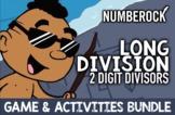 ♫♪ Long Division ♫♪ 2 Digit Divisors: Worksheets, Game, Vi