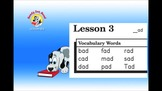 "Ready, Set, Read: DVD Lesson 3   Short A    ""ad"""