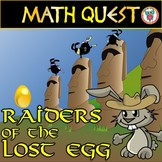 EASTER MATH QUEST (Grade 3-6 Easter Activity + Spring Activity)