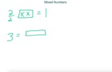 Visual Fractions - Drawing Mixed Numbers