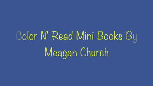Personal Safety Story #1 (Public School Edition): Color-N-Read Mini Book
