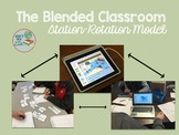 A Simple Station Rotation Model for Blended Learning