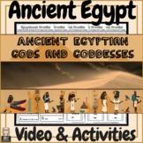 Ancient Egypt Egyptian Gods & Goddesses Video & Activities!