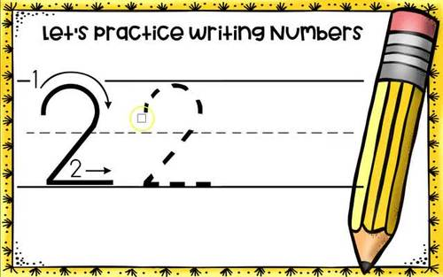 Learning to Write Numbers 0-9