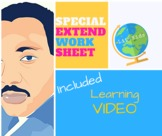 Martin Luther King, Jr. EXTEND Learning Activity Plus Video