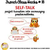 "18 French Class Transition Video ""Positive Self-Talk"" for"