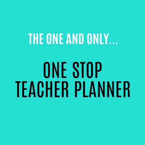 Editable Teacher Binder FREE Updates | Digital Teacher Planner for Google Drive