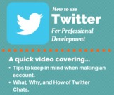Using Twitter as Professional Development