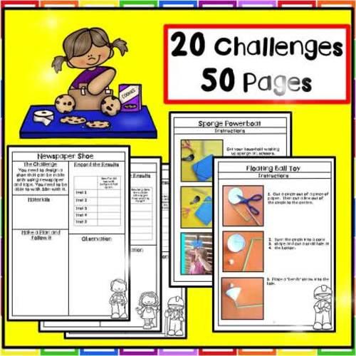 Homeschool STEM Activities (20 Challenges)