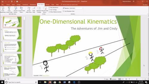 Lesson Plan Bundle: Kinematics (One Dimensional)
