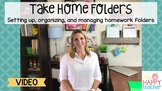 Take Home Folders: How to set up, organize, and manage Tak