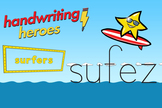 Handwriting Heroes Video: Surfers