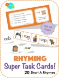 Rhyming Super Task Cards! - How-To video
