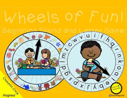 Letter Recognition and Letter Sound Literacy Centers Bundle