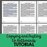 Tips for Copying and Pasting on Artboards