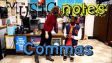 Commas Song