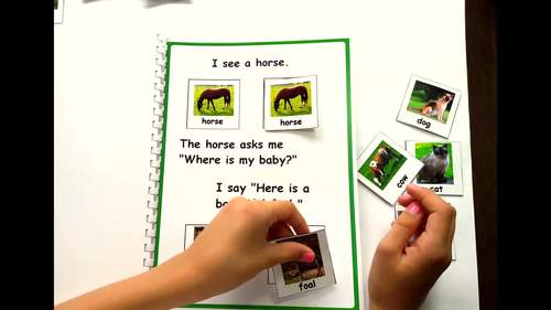Adapted Book - Farm Animals and Their Babies