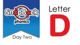 SnapBack Phonics Video: Letter D, Day Two