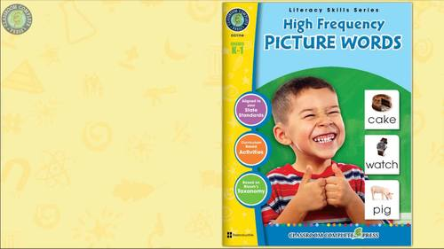 High Frequency PICTURE WORDS Gr. PK-2