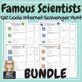 Scientists Biology, Physics and more QR CODE HUNT BUNDLE +