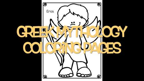 Greek Mythology Coloring Pages