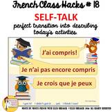 "French Class Transition Video ""Positive Self-Talk"" for CI"