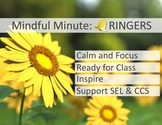 Mindfulness Bell Ringers: Discussion Questions, Journal Pr
