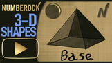 3D Shapes Song: Identifying 3-D Solid Shapes
