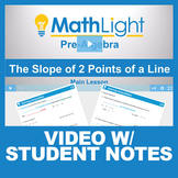 Finding Slope Video Lesson with Student Notes