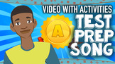 Math Test Prep Song with Activities: Test Taking Strategie