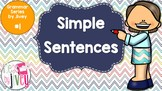 Simple Sentences - Grammar Series by Jivey #1