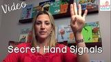 Classroom Management Tip: Use Secret Hand Signals