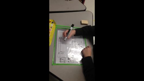 Comparing Numbers Practice Mats -Greater Than, Less Than