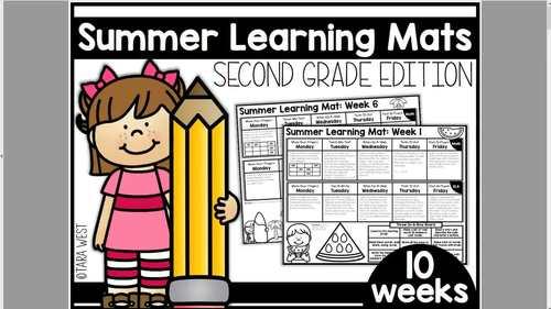 Summer Learning Mats: Second Grade Edition