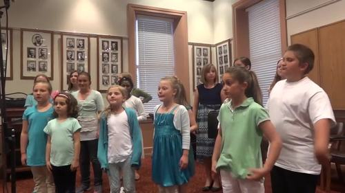 The Sand and the Sea a Chorusical for 2-part Choir by M. Ryan Taylor