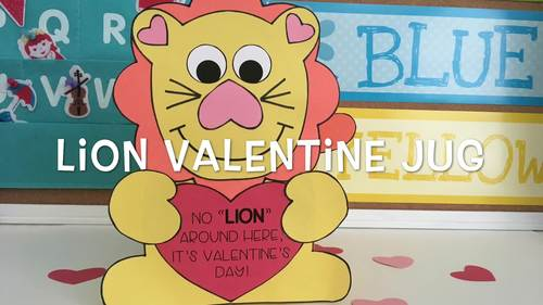 Valentine Day Craft {Lion}