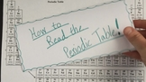 How to Read the Periodic Table VIDEO LESSON