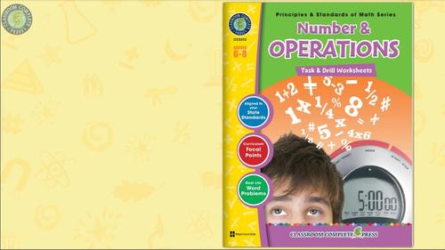 Number & Operations - Task & Drill Sheets Gr. 6-8