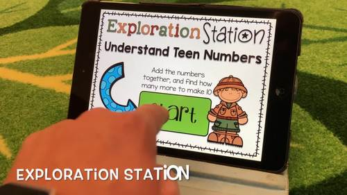 Exploration Station - Count Teen Numbers