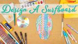 Summer Activities: Surfboard Art Project & Roll-A-Dice Gam