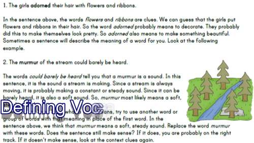 Reading Comprehension Passages II | Vocabulary in Context & Story Parts | Gr3-4