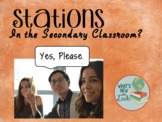 Stations in the Secondary Classroom Part 1 Content Stations