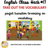 English ESL ELL EFL ELD ESOL Transitional Video Vocabulary