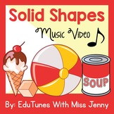Solid Shapes: Geometry Video - CCSS Aligned for Kindergart