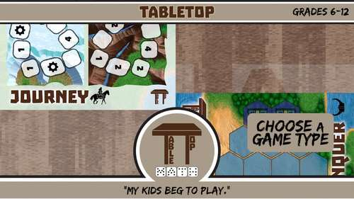 TableTop Math -- Families of Functions, Transformations & Piecewise -- Games