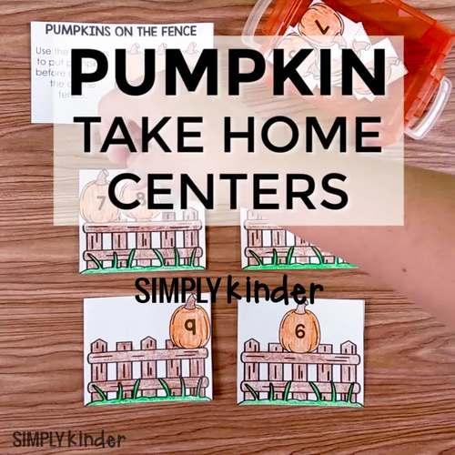 Pumpkin Send Home Centers